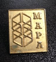 Image of MUC00283 - Gold MAPA Pin