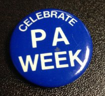 Image of Celebrate PA Week Button