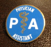 Image of MUC00292 - Physician Assistant Snake and Staff Pin