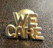 Image of We Care Pin