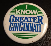 Image of I Know Greater Cincinnati Button
