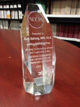 Image of NCCPA Award