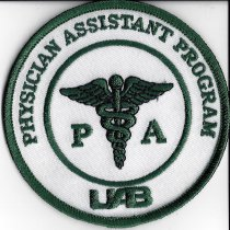 Image of University of Alabama Physician Assistant Program Patch