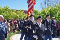 Image of Womack Army Medical Center Color Guard