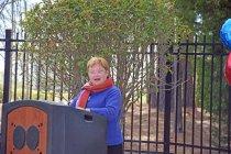 Image of Ruth Ballweg speaking as Historian of PAHx