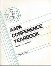 Image of AAPA Conference Yearbook - Vol 1., No.1