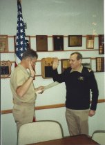 Image of William H. Feyh Promotion to LCDR