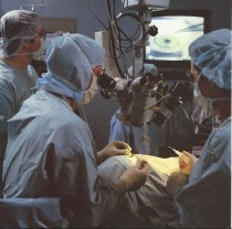 Image of Barbara Harris Assists in Cataract Surgery