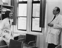 Image of SIC00087 - Dr. Eugene Stead and Dr. Timothy Evans at Old Duke Hospital