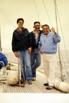 Image of SIC00100 - PAs John Belford, Mike Doyle and Bob Norton sailing