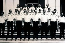 Image of SIC00105 - The first Navy PAs appointed as Warrant Officers