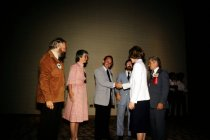 Image of SIC00156 - First Lady Rosalynn Carter and George McCullough at AAPA Conference, New Orleans