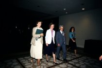 Image of SIC00161 - First Lady Rosalynn Carter and George McCullough at AAPA Conference, New Orleans