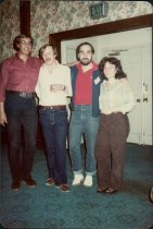 Image of SIC00294 - 1975 LIU gradutes at NYSSPA meeting: Griffin, Paruch, Tanenhaus, Mittman