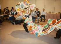 Image of SIC00324 - Welcoming Dragon Dance at AAPA conference in San Francisco