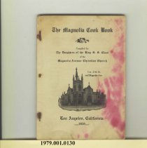 Image of 1979.001.0130 - The Magnolia Cook Book