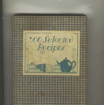 Image of 1979.001.0141 - 500 Selected Recipes