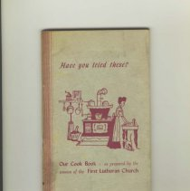 Image of 1979.001.0327 - Our Cook Book: We Dedicate this Cook Book to our Mothers