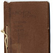 Image of 1979.001.2167 - Luncheon recipes: Hot dishes, salads, desserts