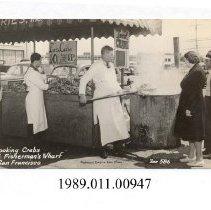 Image of 1989.011.00947 - Postcard, real photo