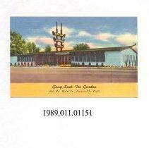 Image of 1989.011.01151 - Gang Sue's Tea Garden...Porterville, California