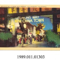 Image of 1989.011.01303 - Enchanting Chinese Settlement, Los Angeles, California