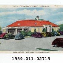 Image of 1989.011.02713 - The Hot Shoppes - Drive-In Restaurants, Washington, Baltimore, Philadelphia
