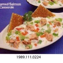 Image of 1989.111.0224 - Creamed Salmon en Casserole