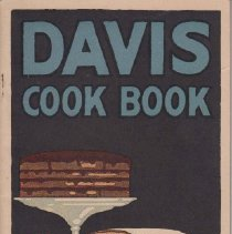Image of 1989.112.0026 - Davis Cook Book The Pure Food Kind