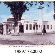 Image of 1989.173.0002 - Blue Bird Restaurant, Madison-On-The-Lake, Ohio