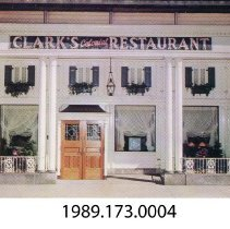 Image of 1989.173.0004 - Clark's Colonial Restaurant, Cleveland, Ohio