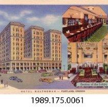 Image of 1989.175.0061 - Hotel Multnomah, Portland, Oregon