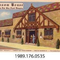 Image of 1989.176.0535 - Sansom House; Philadelphia, Pennsylvania