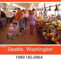 Image of 1989.185.0064 - Pike Place Market; Seattle, Washington