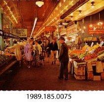 Image of 1989.185.0075 - The Pike Place Market; Seattle, Washington