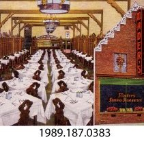Image of 1989.187.0383 - Mader's Famous Restaurant, Milwaukee, Wisconsin