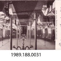 Image of 1989.188.0031 - Dining Room, Wyoming Valley Hotel