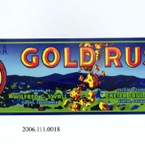 Image of 2006.111.0018 - Label, fruit crate