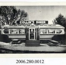 Image of 2006.280.0012 - Collin's Diner / Canaan, Conn.