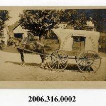 Image of 2006.316.0002 - Postcard, real photo