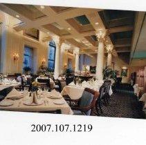 Image of 2007.107.1219 - Hotel Washington Two Continents Restaurant, Washington D.C.