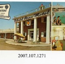 Image of 2007.107.1271 - Colonial Arms Motel & Restaurant, Penns Grove, New Jersey