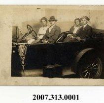 Image of 2007.313.0001 - Postcard, Real Photo
