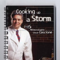 Image of 2008.168.0036 - Cooking up a Storm : ABC 6 Meteorologist Steve Cascione