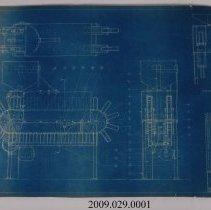 Image of 2009.029.0001 - Blueprint