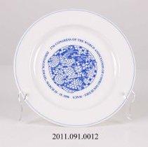 Image of 2011.091.0012 - Plate, Commemorative