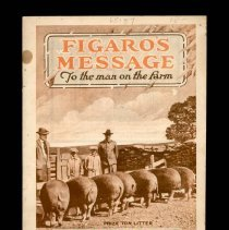 Image of 2011.140.0005 - Figaro's Message to the Man on the Farm : Pork on the Farm - Killing, Curing and Smoking