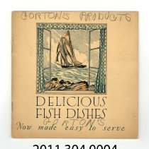 Image of 2011.304.0004 - Timely Fish Recipes for the Busy Housewife made with Gorton Sea Foods