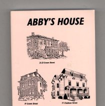 Image of 2012.132.0006 - Abby's House 20th Anniversary Cookbook 1976-1996