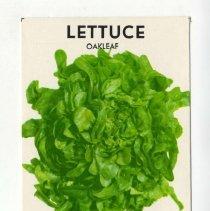 Image of 2008.140.0172 - Packet, Vegetable Seed